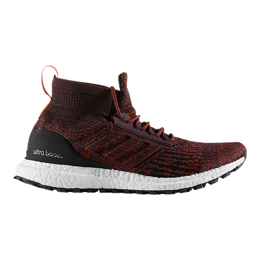 9bbd00d85 adidas Men s Ultra Boost All Terrain Running Shoes - Burgundy ...