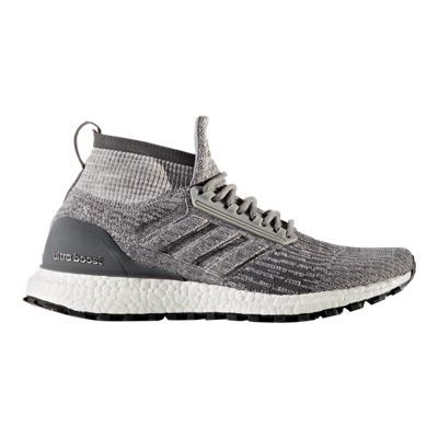 adidas Men's Ultra Boost All Terrain Running Shoes - Grey