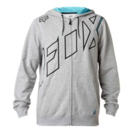 Fox Men's Stretcher SECA Full Zip Hoodie - Heather Grey