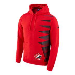 623c7ed8c0504 Team Canada Nike Pullover Fleece Hoodie