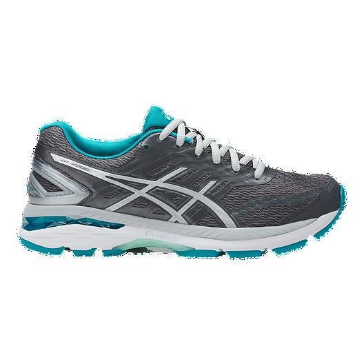 promo code bf89a 2760f ASICS Women s GT 2000 5 Running Shoes - Grey Silver Aqua   Sport Chek