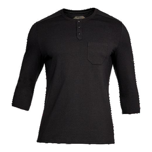 ecd82256e267d Under Armour Men's Unstoppable 3/4 Henley T Shirt | Sport Chek