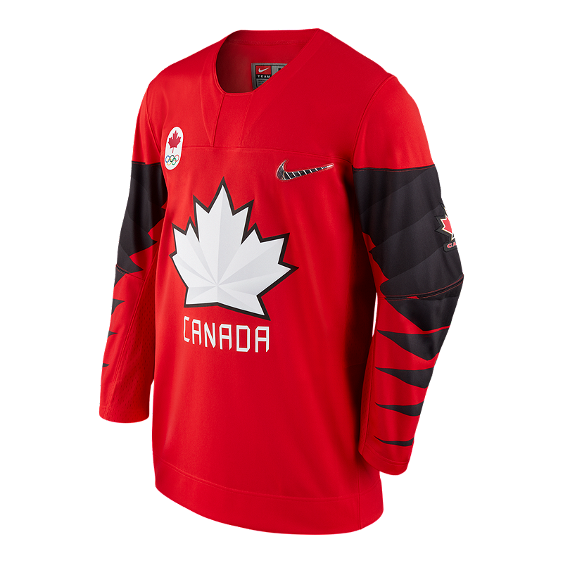 6418104b7 Team Canada Nike Hockey Jersey - Red | Sport Chek