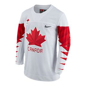 98b7da92 Team Canada Nike Hockey Jersey - White