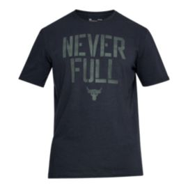 Under Armour Men's Project Rock Never Full Training T Shirt