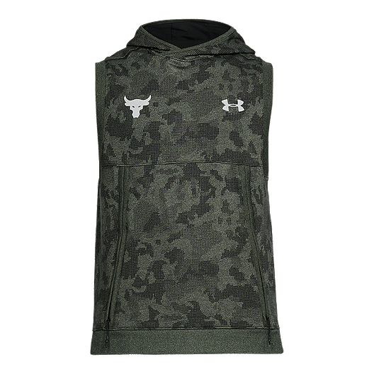 6bd2a12e51b Under Armour Men s Project Rock Threadborne Sleeveless Hoodie ...