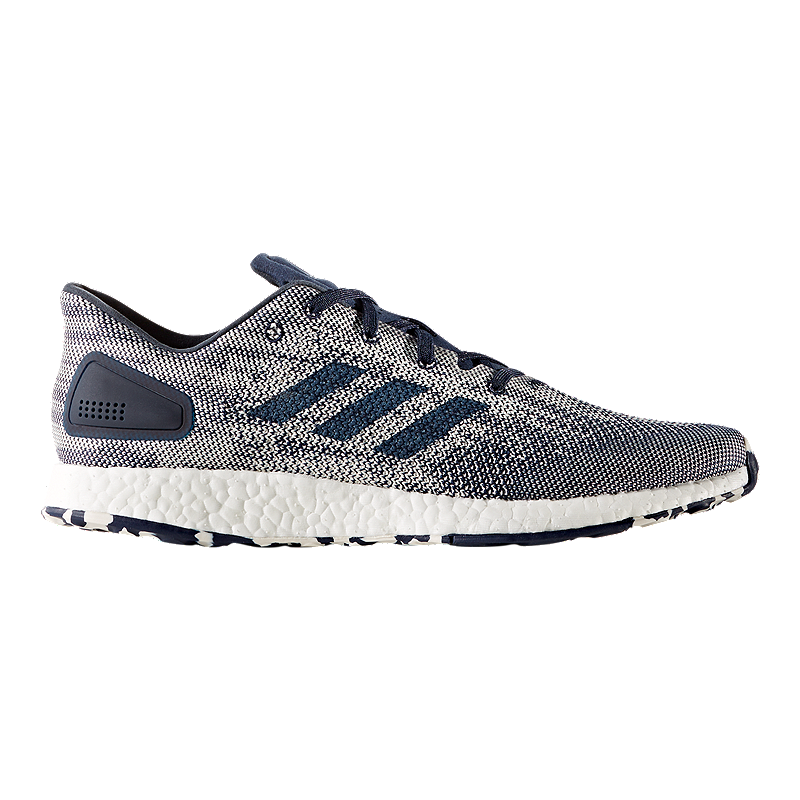 1b601168f6a83 adidas Men s Pure Boost DPR Running Shoes - Indigo White