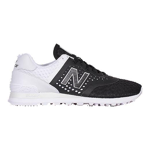 new product e5444 8da67 New Balance Men's 574 (Breathe) Shoes - Black/White   Sport Chek