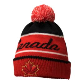 Team Canada Nike Kids' Script Pom Knit