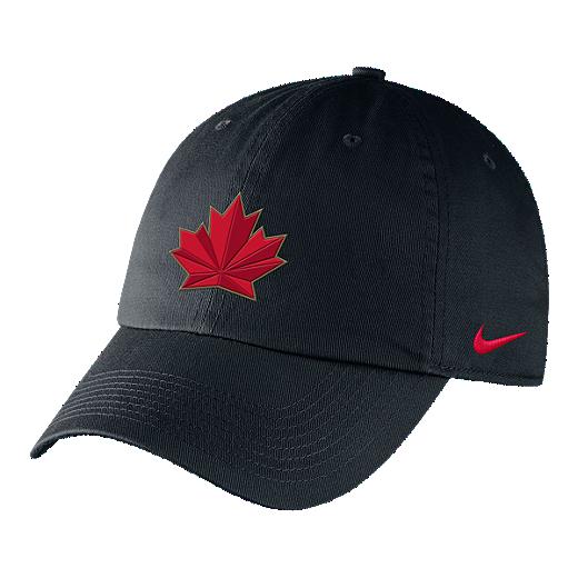 b05e84f64f33 ... discount code for team canada nike h86 adjustable rink hat black 04578  b61b2