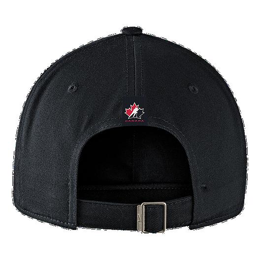 ffc0f01233c Team Canada Nike H86 Adjustable Rink Hat