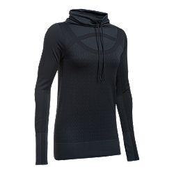 3d1da7f26bb image of Under Armour Women's Threadborne Funnel Neck Long Sleeve Shirt  with sku:332365409