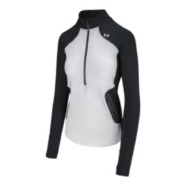 Under Armour Women's ColdGear Reactor 1/2 Zip Long Sleeve Shirt
