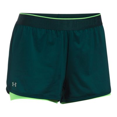 Under Armour Women's HeatGear 2-in-2 Shorts