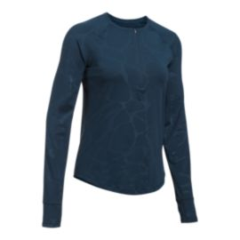 Under Armour Women's Fly-By 1/2 Zip Long Sleeve Running Shirt
