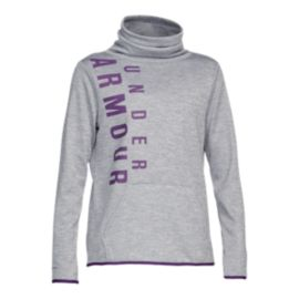 Under Armour Women's Armour Fleece Funnel Twist Pullover Hoodie