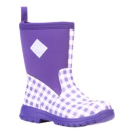 Muck Girls' Breezy Rain Boots - Lavender All Over Print