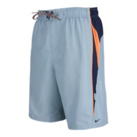 Nike Men's Core Contend 9 Inch Volley Shorts - Mica Blue