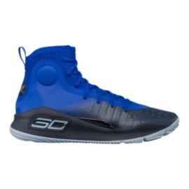 Under Armour Men's Curry 4 Basketball Shoes - Royal Blue