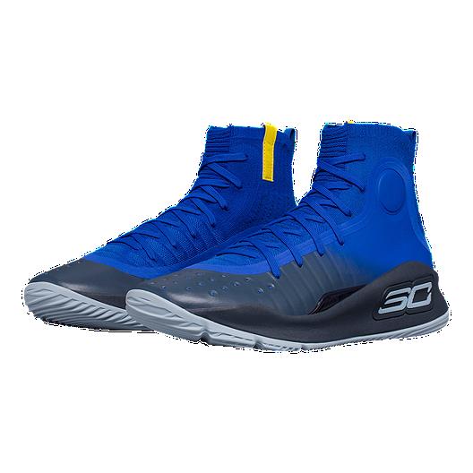 sports shoes 6bf3d 64153 Under Armour Men's Curry 4 Basketball Shoes - Royal Blue. (0). View  Description