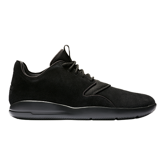 54eb36fcf46bc2 Nike Men s Jordan Eclipse Leather Basketball Shoes - Black