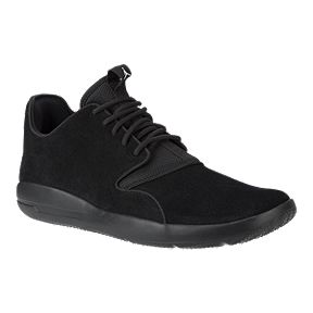 Nike Men's Jordan Eclipse Leather Basketball Shoes - Black