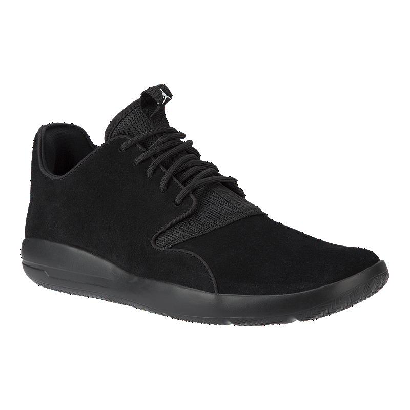 9b433abf8db648 Nike Men s Jordan Eclipse Leather Basketball Shoes - Black