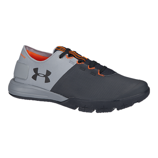 ff5804ad3704e5 Under Armour Men's Charged Ultimate TR 2.0 Training Shoes - Stealth Grey/ Black | Sport Chek