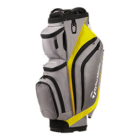 TaylorMade Supreme Cart Bag - Grey/Yellow