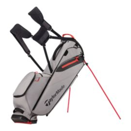 TaylorMade Flextech Lite Stand Bag - Grey/Red