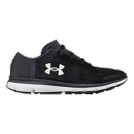 promo code ebcfe da897 Under Armour Men s SpeedForm® Velociti Graphic Running Shoes - Black Grey    Sport Chek
