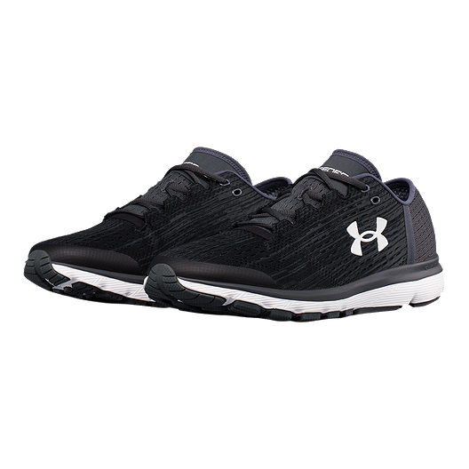 detailed look 5e01b 3664e Under Armour Men's SpeedForm® Velociti Graphic Running Shoes - Black/Grey