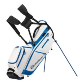 Taylormade Flex Tech Crossover Stand Bag - White/Blue