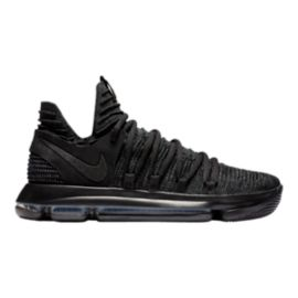 Nike Men's KDX Basketball Shoes - Black/Dark Grey
