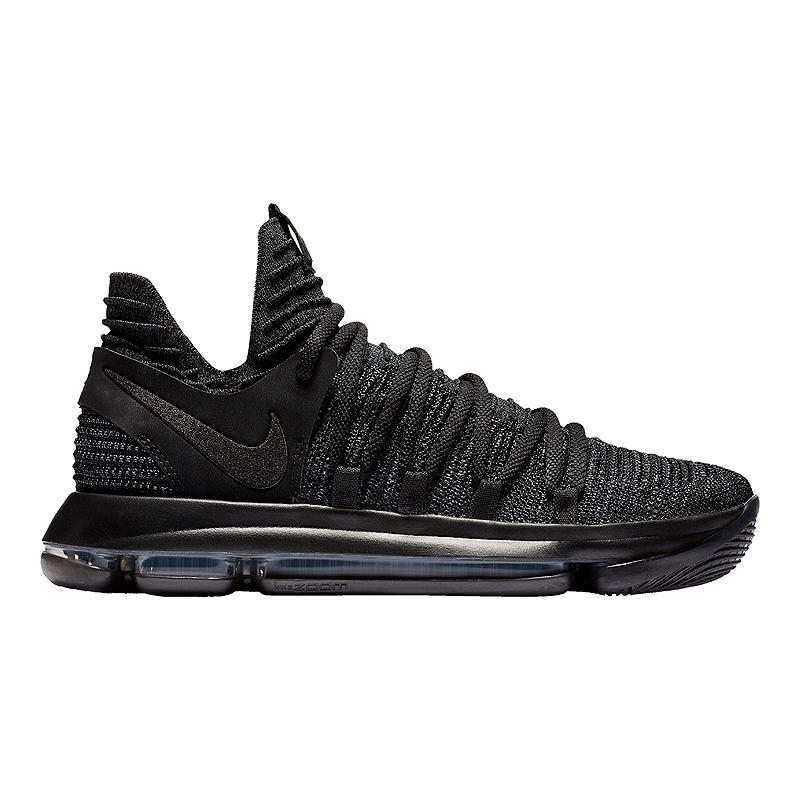 cheaper 94a03 a6060 ... Nike Mens KDX Basketball Shoes - BlackDark Grey ...