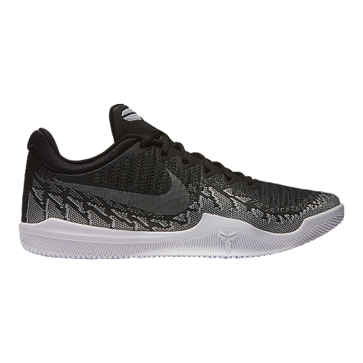 490597ec800a Nike Men s Mamba Rage Basketball Shoes - Black White - BLACK WHITE