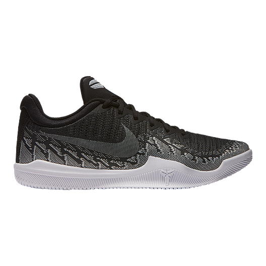 outlet store e9e17 b99c2 Nike Men s Mamba Rage Basketball Shoes - Black White   Sport Chek