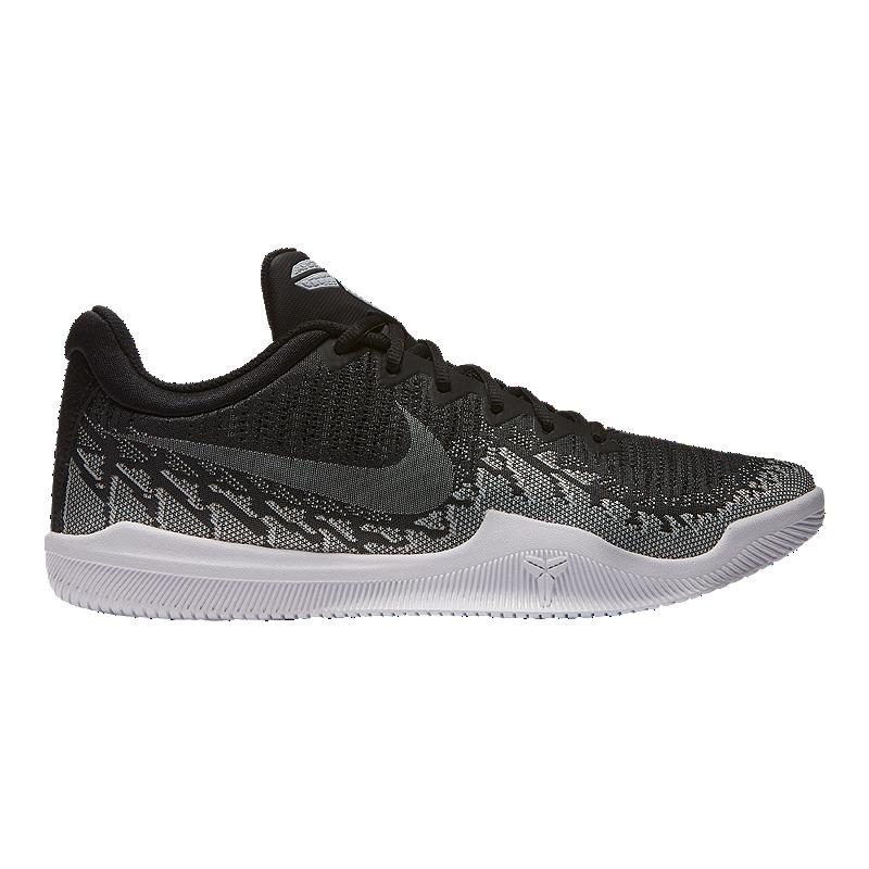 34e2caeb39ce Nike Men s Mamba Rage Basketball Shoes - Black White