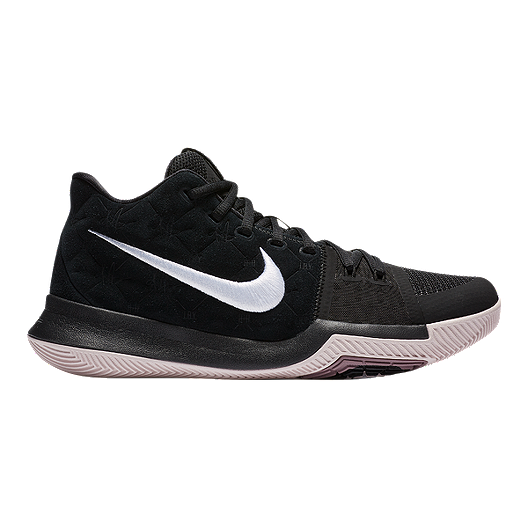 ddc58187999c Nike Men s Kyrie 3 Basketball Shoes - Black White Red
