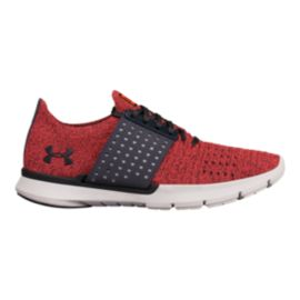 Under Armour Women's Threadborne Slingwrap Running Shoes - Red/Grey