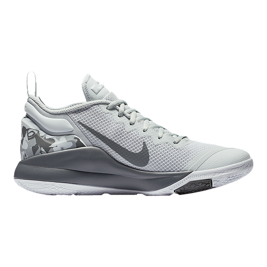 new concept 95dd7 bd98f Nike Men s LeBron Witness II Basketball Shoes - Platinum White Grey. (1). View  Description