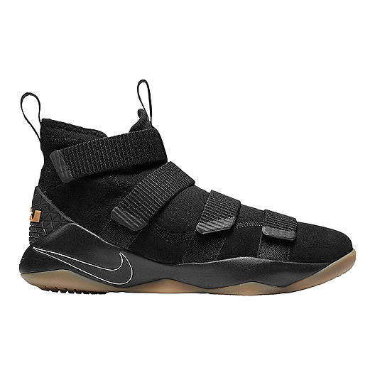 a1333763f4f Nike Men s LeBron Soldier XI Basketball Shoes - Black Gum