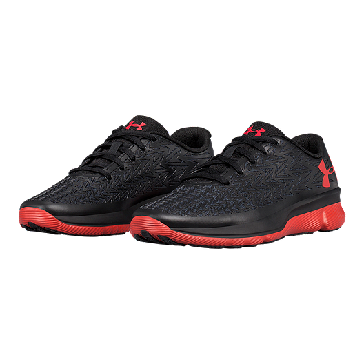 c2ed83e6 Under Armour Kids' Rebelspeed 2 Grade School Shoes - Black/Red