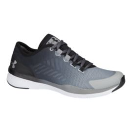 Under Armour Women's Push Training Shoes - Grey/Silver