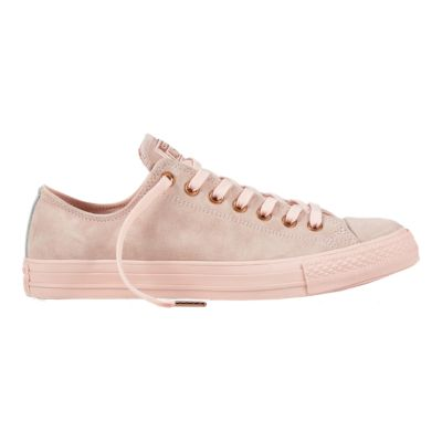 Converse Women\u0027s Chuck Taylor All Star Leather Ox Shoes - Pink