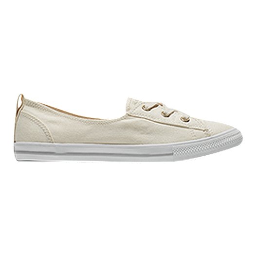 1ffaa85c982989 Converse Women s Chuck Taylor All Star Ballet Lace Shoes - White ...