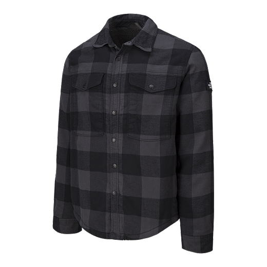 9f5d2d927 The North Face Men's Campground Sherpa Jacket - Grey Plaid   Sport Chek