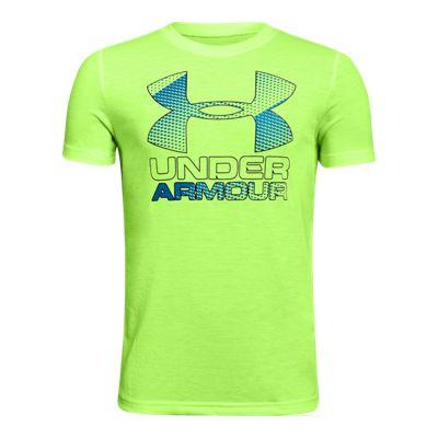 Under Armour Boys' Big Logo Hybrid 2.0 Tech T Shirt
