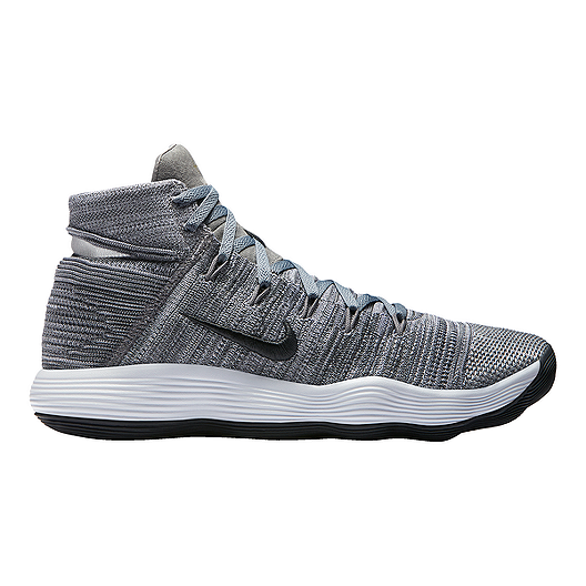 sports shoes 4e4dc e0b8b Nike Men s Hyperdunk 2017 Flyknit Basketball Shoes - Grey Black   Sport Chek