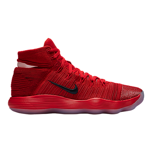 eb606dac5ace Nike Men s Hyperdunk 2017 Flyknit Basketball Shoes - Red Silver ...